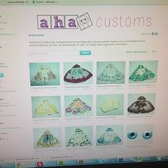 Woohoo the shop is open :) http://etsy.com/shop/ahacustoms #ahacustoms #blythe #customblythe