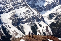 Descending Opal Ridge (Marko Stavric) Tags: mountain canada mountains kananaskis rockies outdoors hiking radek rocky hike ridge alpine alberta rockymountains hikers range opal zhan scramble scrambling