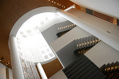 SFMOMA Staircase (dr_marvel) Tags: art architecture stairs artwork sfmoma staircase artmuseum