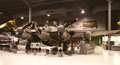 de Havilland  Mosquito B Mk 35 forward port quarter (wbaiv) Tags: museum plane de airplane flying experimental force aircraft air machine full size mosquito bomber markings mk raf eaa powered b35 wisconson oskhosh havilland royall 2stage superchargers intercoolers