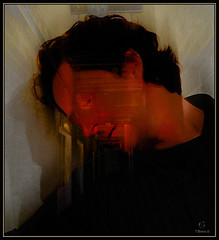 Dwight: Red (Tim Noonan) Tags: shadow red portrait black colour texture digital photoshop industrial emotion expression hallway mosca dwight vividimagination artdigital shockofthenew stealingshadows awardtree artfortheart maxfudgeawardandexcellencegroup exoticimage admintalkinternational digitalartscenepro