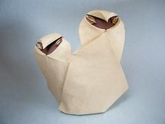 Spooky Owlets - Bernie Peyton (Rui.Roda) Tags: origami spooky owl coruja bernie papiroflexia peyton chouette hibou eule mocho owlets