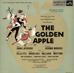 The Golden Apple (Question Josh? - SB/DSK) Tags: music records apple album broadway vinyl musical rca alhirschfeld thegoldenapple