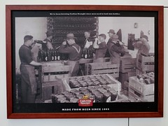 Beer bottling (Collingwood Historical Society) Tags: beer bottles brewery abbotsford