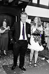 Bride & groom (Louise Tweddell) Tags: wedding river groom bride riverside confetti rings bridegroom riverstort