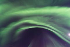 Aurora, Steinsfjord, Senja, Norway (HHildebrand) Tags: ocean winter light sea sky mountain color colour norway stars norwegen atlantic arctic aurora northern celestial troms nordlys nordlicht