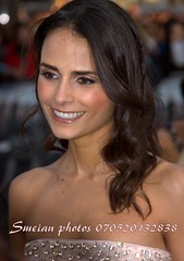 Jordana Brewster (iron_smyth48) Tags: red portrait woman white celebrity film smile face female hair carpet star glamour eyes dress teeth event actress premiere celeb
