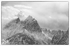 storm_bw_05 (StephenWilliDesigns) Tags: blackandwhite snow storm mountains weather jackson wyoming tetons grandteton jacksonhole grandtetonnationalpark