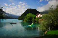 Perfect day (ceca67) Tags: light sky house lake color tree green nature water landscape photography schweiz switzerland photo nikon flickr swiss magic harmony d90 ceca ceca67 svetlanaperic svetlanapericphotography