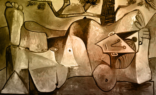 "Majas, homenajes de Francisco de Goya y Lucientes (1802), Eugéne Delacroix (1826), Amadeo Modigliani (1916), Pablo Picasso (1906), (1931), (1959), (1964). • <a style=""font-size:0.8em;"" href=""http://www.flickr.com/photos/30735181@N00/8746853361/"" target=""_blank"">View on Flickr</a>"