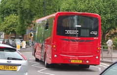 17 May 2013 (5) (togetherthroughlife) Tags: bus may surrey sutton londongeneral 2013 ws10 lj13gju