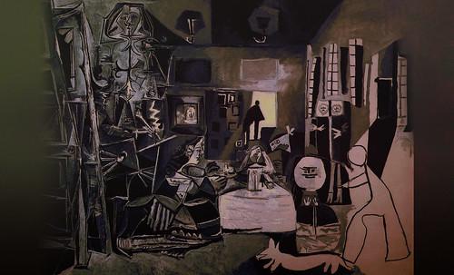 """Meninas, iconósfera de Diego Velazquez (1656), estudio de Francisco de Goya y Lucientes (1778), paráfrasis y versiones Pablo Picasso (1957). • <a style=""""font-size:0.8em;"""" href=""""http://www.flickr.com/photos/30735181@N00/8747977324/"""" target=""""_blank"""">View on Flickr</a>"""