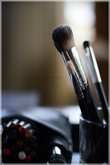 Pencils & Brushes (Made By Maryann | Photography) Tags: beauty pencils makeup brushes softfocus weddings 50mmprimelens