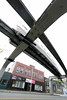 (User ID: Brad) Tags: seattle speed train wideangle elevated monorail