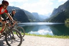Mountain biking in the Salzkammergut (Hotel Goldener Ochs) Tags: sports austria mountainbiking summervacation summerholiday salzkammergut badischl salzburgprovince