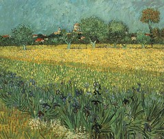 VanGogh-View_of_Arles_with_Irises (Carlos Cesar Alvarez) Tags: arte vangogh pintura