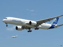 A350 MSN1 Maiden flight (Clement_R.) Tags: flight maiden msn1 a350 lfbo fwxwb