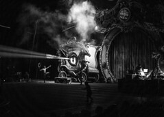 The Greatest Show on Earth (micadew) Tags: show lighting people blackandwhite bw black monochrome blackwhite interesting play circus stage watching exp