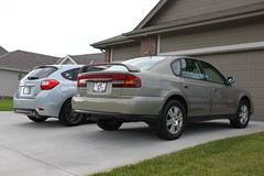 IMG_4481 (86Reverend) Tags: 2004 30 sedan 04 subaru outback hatch impreza 2012 5door h6