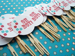 Oh Boy - Cupcake Toppers