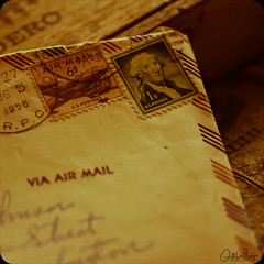 193:365 via air mail (gloworm09) Tags: letters airmail yesteryear odc