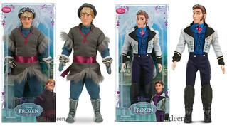 Upcoming Disney Store FROZEN Dolls!