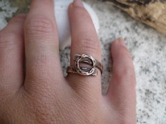 Recycled copper ring - minimalist rustic jewelry (spiralcraft) Tags: metal vintage mixed recycled rustic jewelry ring copper simple minimalist dainty darkened upcycled ecojewelry