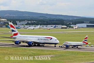 A380\A318 G-XLEA\G-EUNA BRITISH AIRWAYS