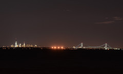 Verrazano and Manhattan (hpaich) Tags: desktop york nyc longexposure bridge light shadow wallpaper ny newyork skyline night dark exposure cityscape zoom manhattan background horizon narrows desktopwallpaper desktopbackground verrazano