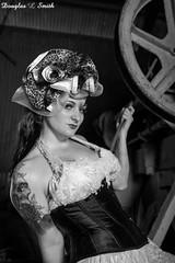 Untitled (Laveen Photography (aka cyclist451)) Tags: arizona abandoned vintage photography model photographer dress formal az silo warehouse photograph gown weddingdress avondale pinup steampunk douglaslsmith