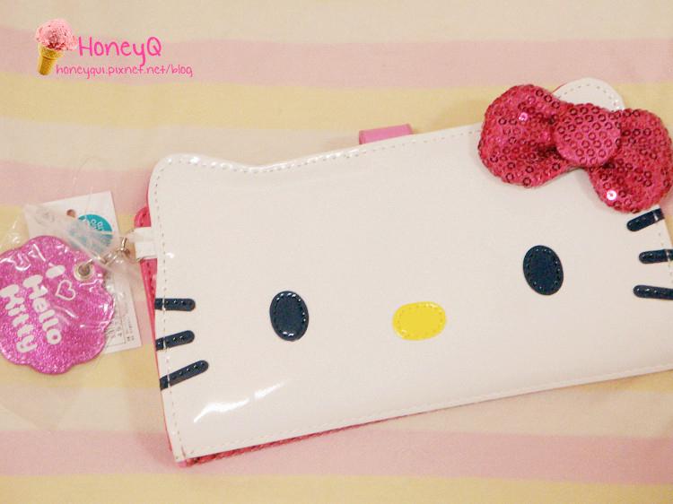 super popular 1ed9d 7b0e7 Hello Kitty收藏家專欄] Bling Bling小桃紅新財布入手!Hello ...