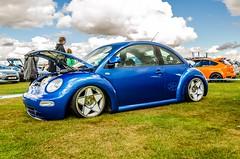 VW Beetle Trax 2013 (technodean2000) Tags: blue vw volkswagen lens big nikon wheels beetle silverstone modified 18 rims lowered alloy trax 105mm 2013 d5100