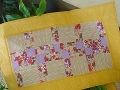 TRILHO! (Lucimar Lima) Tags: patchwork mesa trilho