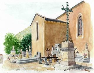 croix Parnac cimetière