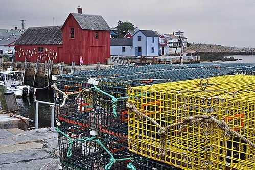 Lobster Pots and Motif No. 1