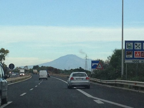 Etna looming
