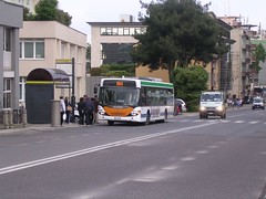 Scania Omnicity ACTV Mestre Venice Italy 2008 (Patrick_Glesca) Tags: venice italy bus public transport comun mestre 2008 venezia autobus venedig venetia scania pubblico actv trasporto autobuz omnicity