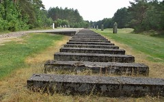 The site of Treblinka Station (emmalouise tgirl) Tags: platform treblinka