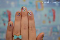 Nail Art Dia das Crianças (Blog Juliana Sá) Tags: glam nailart esmalte clawdeen monsterhigh