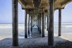 Under The Pier (cstout21) Tags: california ca chris usa beach water pier us waves unitedstates pacificocean orangecounty westcoast huntingtonbeach hdr highdynamicrange stout ngoc canon60d stoutandstout northamera