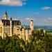 Schloss Neuschwanstein im Schwangau, Füssen, Ostallgäu-1-3