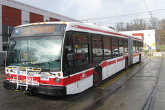 New TTC Articulated bus (Sean_Marshall) Tags: toronto bus ttc transit