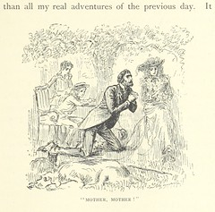 """British Library digitised image from page 25 of """"Peter Ibbetson [A novel] ... Edited [or rather written] and illustrated by G. du Maurier"""""""