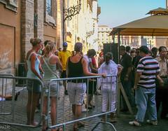 Cover up! (Tiigra) Tags: 2007 italy rome vatican church city dress funorinterest people vaticancity