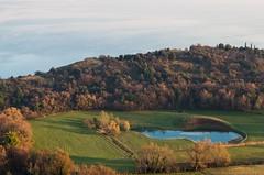 Two Lakes (drugodragodiego) Tags: italy panorama lake nature water landscape lago pentax natura acqua lombardia k5 lagodigarda gardasee panorami laghi provinciadibrescia pentax1650 smcpda1650mmf28edalifsdm pentaxiani pentaxart pentaxk5 pentaxk5iis k5iis