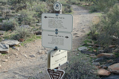 Gateway Loop Trail Marker