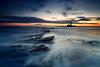 St Mary's Lighthouse (Alistair Bennett) Tags: lighthouse seascape sunrise coast rocks stmarys whitleybay tynewear polariser oldhartley canonef1740mmƒ4lusm gnd075he gnd045se