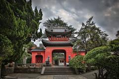Sfuku-ji Shrine in Nagasaki (lucien_muller) Tags: red japan canon temple japanese shrine japon nagasaki hdr markiii sfukuji canon5dmarkiii 5dmarkiii