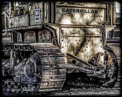 Caterpillar (augphoto) Tags: us unitedstates southcarolina caterpillar bradley heavyequipment bulldozer earthmover augphotoimagery