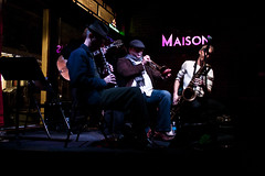 Frenchmen Street, New Orleans (Jonmikel & Kat-YSNP) Tags: music club louisiana neworleans livemusic band trumpet jazz maison sax saxophone marigny frenchmenstreet